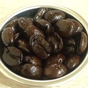 バレンタインブレンドの豆の写真